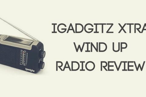 iGadgitz Xtra Wind Up Radio Review