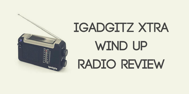 iGadgitz Xtra Wind Up Radio Review