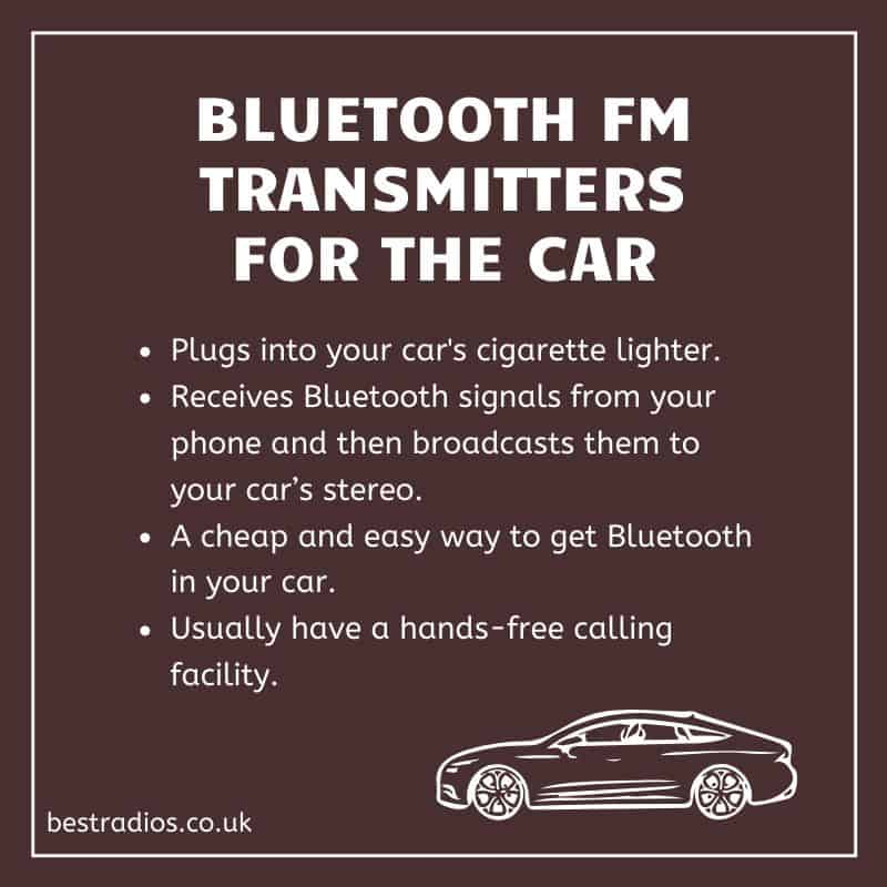 Bluetooth FM Transmitters for the Car