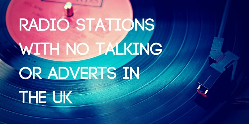 Radio stations with no talking
