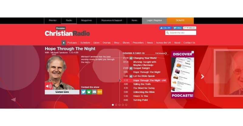 Best Christian Radio Stations In The UK